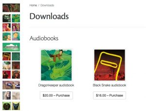 Audiobook downloads